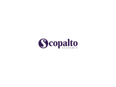 Academia scopalto Concept libraries magazines digital purple logo branding brand video brand design design