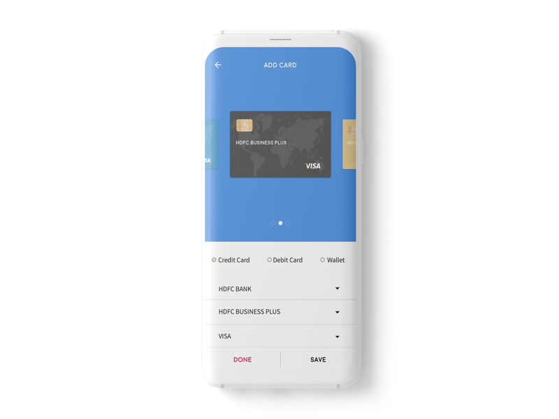 Cardinal Add Card shopping offers payments wallet debit card credit card card add card