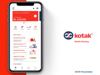 Kotak Mahindra Bank Mobile Application