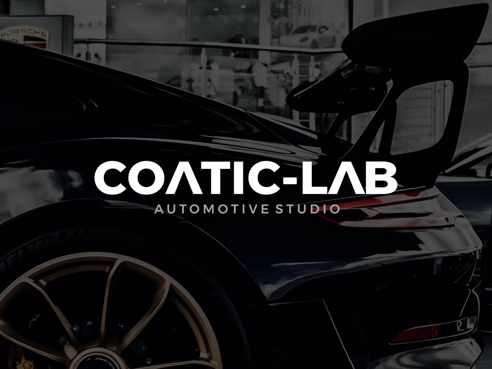 CoaticLab Automotive Studio Logo