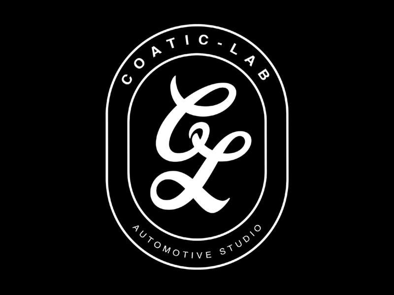 "CoaticLab - Limited Edition ""CL"" Badge Tee Design logo design typography logo auto detailing automotive fashion apparel shirt design tshirt tee shirt graphic design"