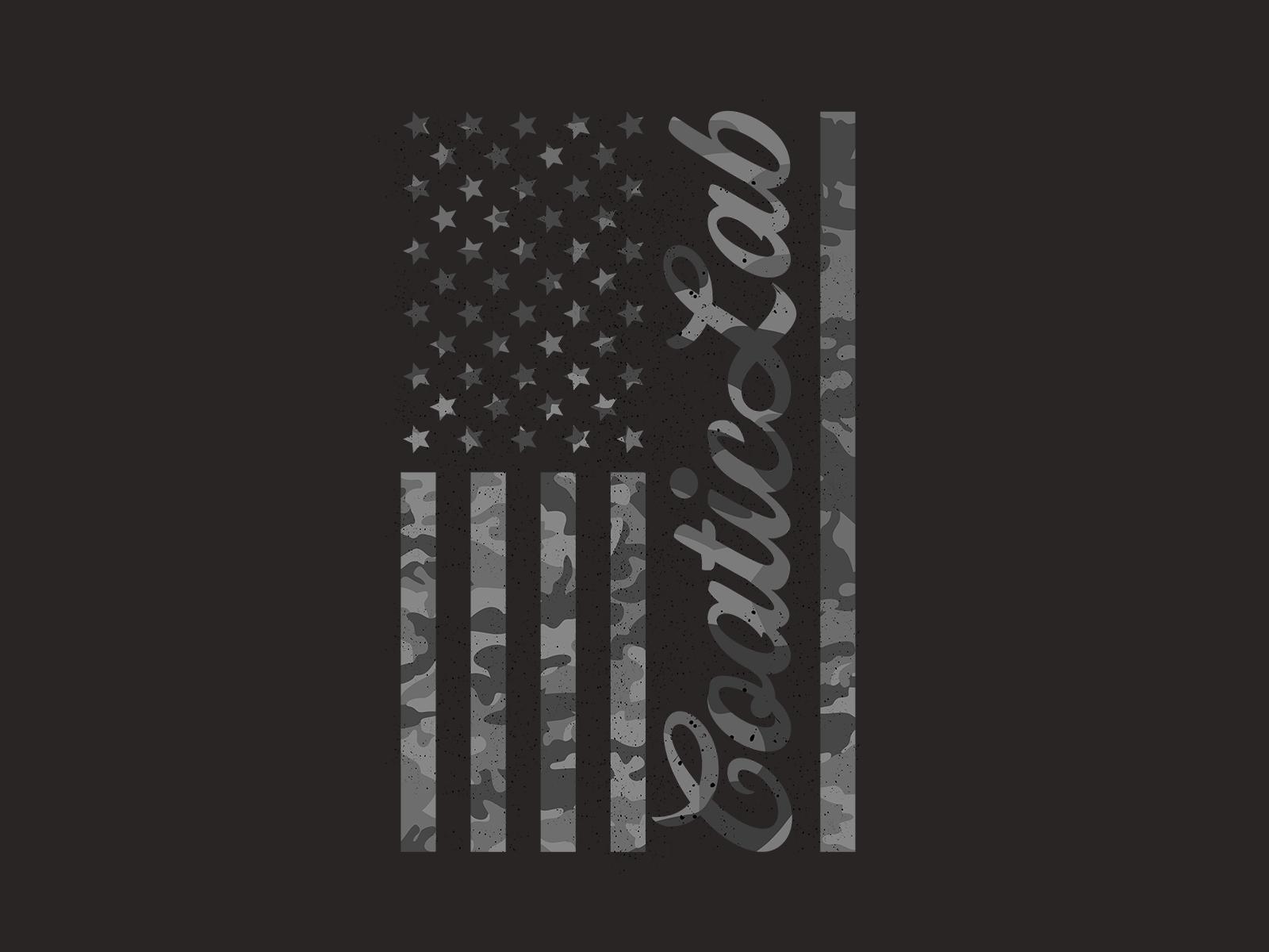 American Flag Tee - CoaticLab Graphic Tee