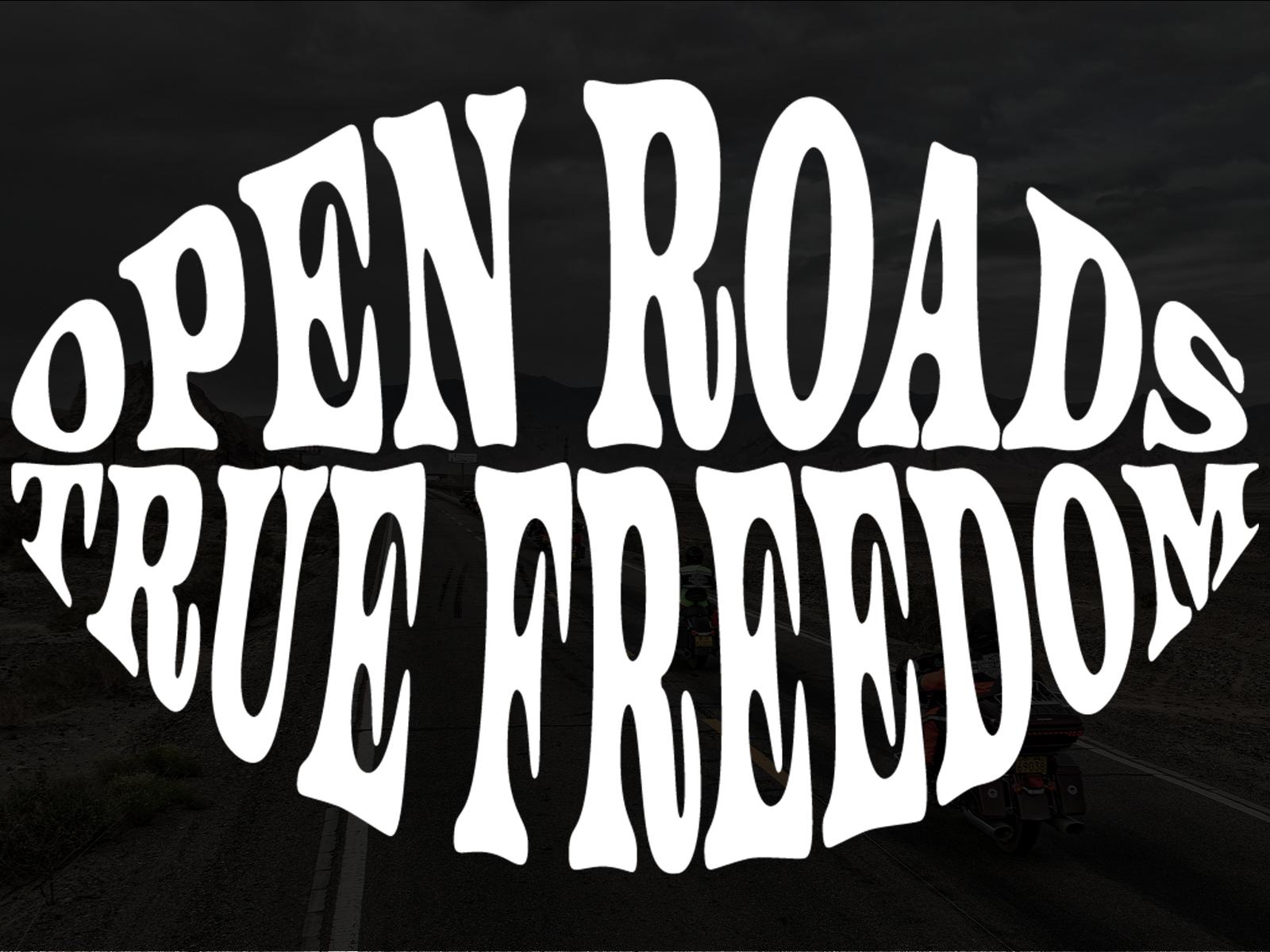 Open Roads Graphic Tee Shirt