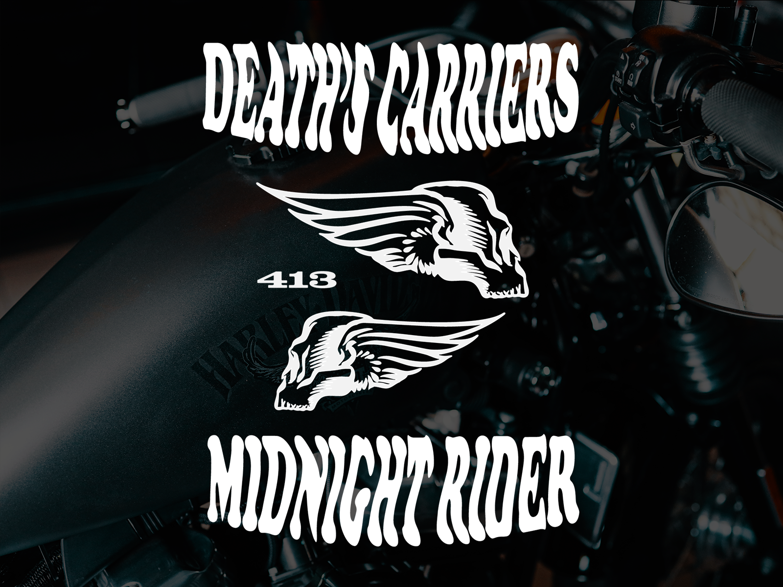 Midnight Rider Graphic Tee