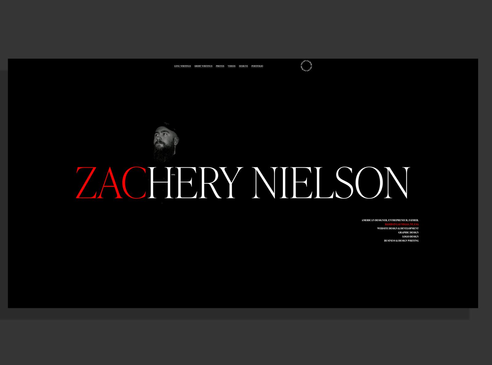 ZacNielson.com | Designer Portfolio & Personal Website