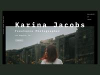Karina Jacobs Photography Website