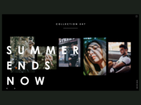Summer Ends Now Look Book Website