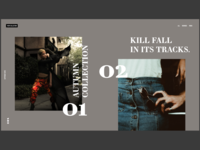 Kill Fall Fashion Line Website