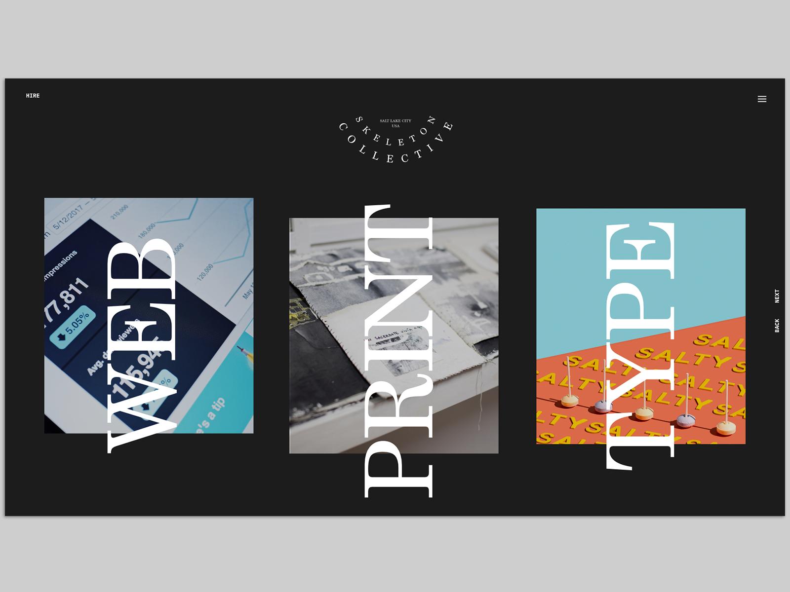 Skeleton Collective Agency Website