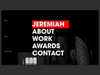 Jeremiah Photography Website