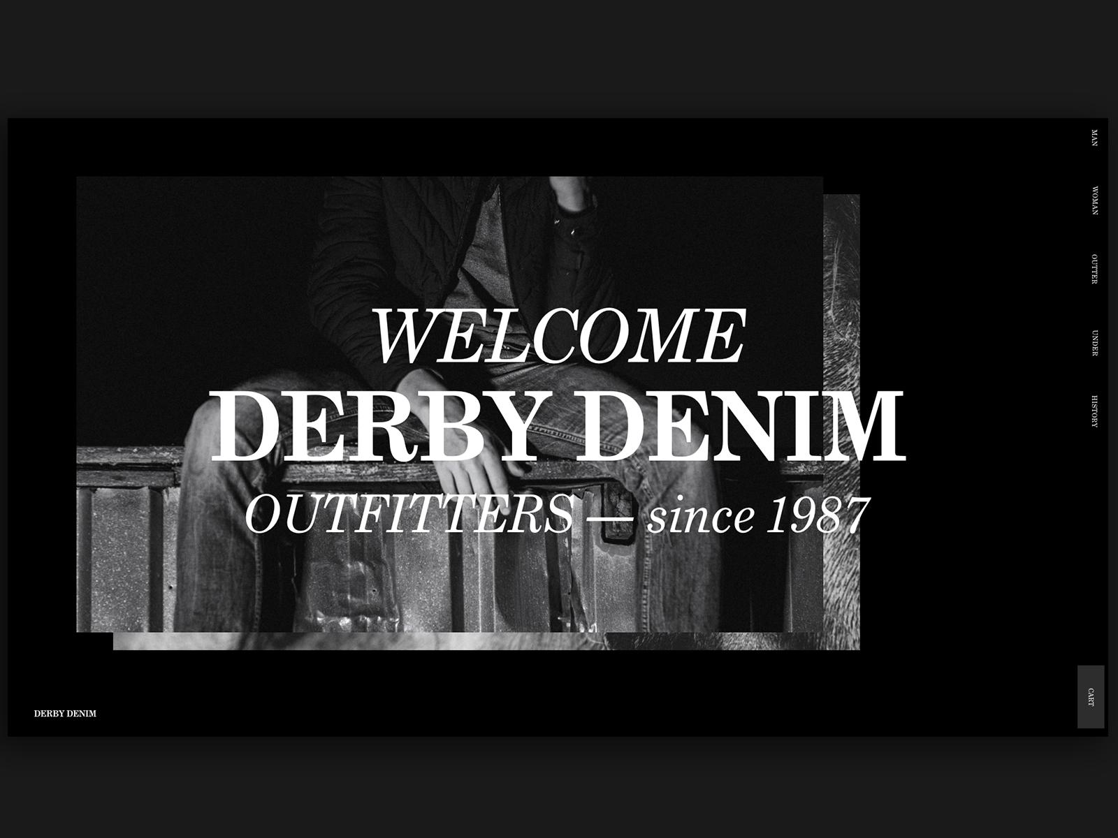 Derby Denim Website
