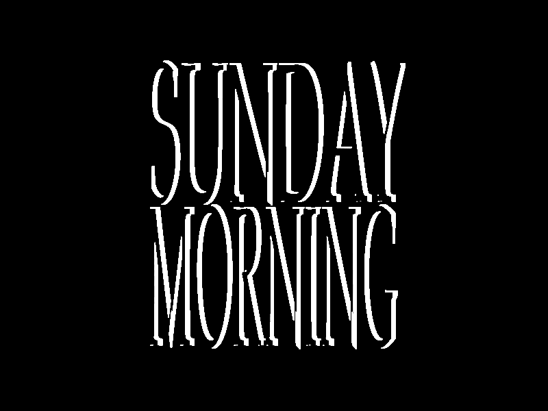 Sunday Type graphic  design graphic art art typographic design typographic typographer branding logo design minimal adobe photoshop adobe illustrator type daily custom typeface type challenge type art 3d custom typography custom type typography type