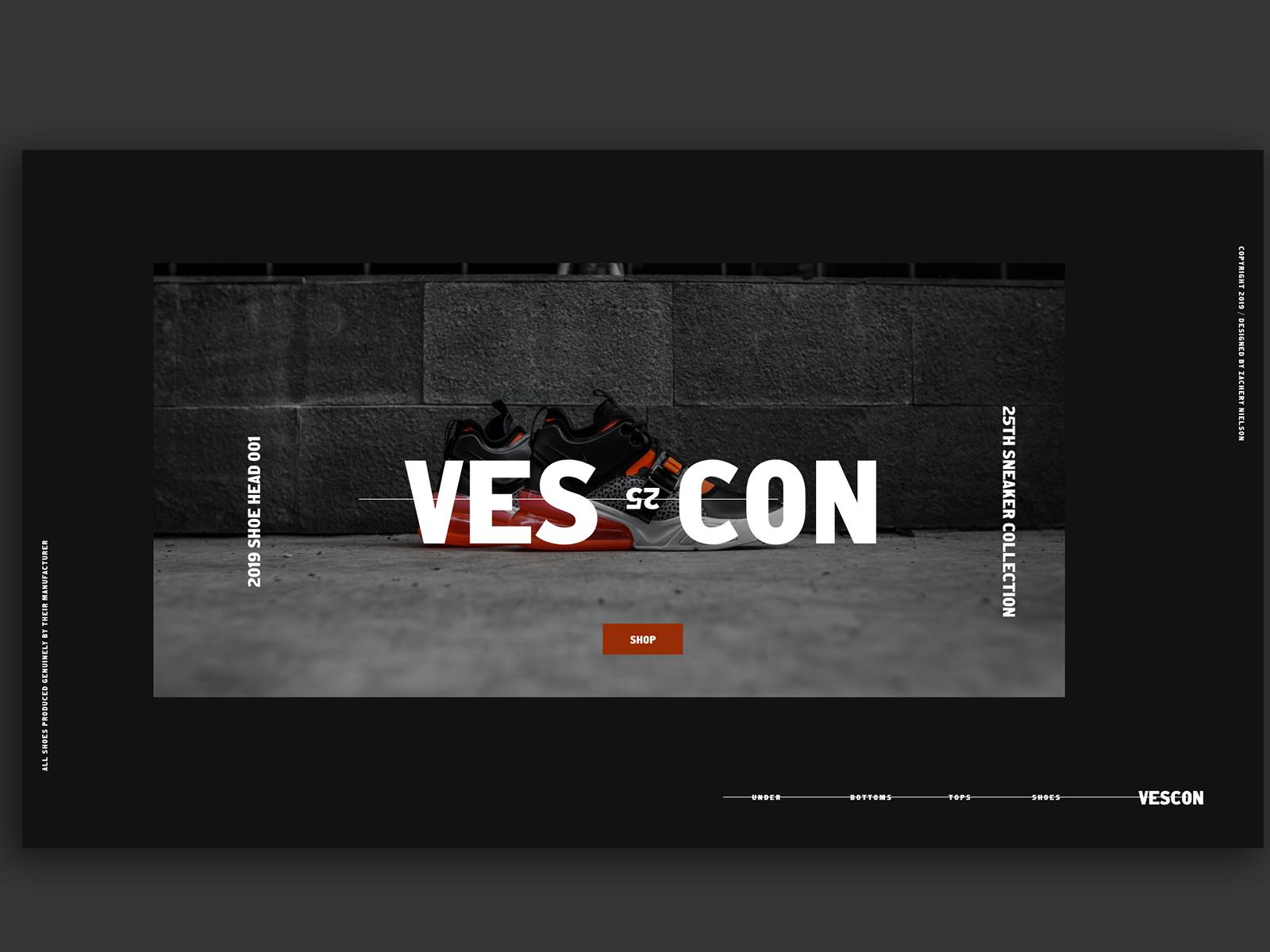Vescon Fashion Blog Homepage