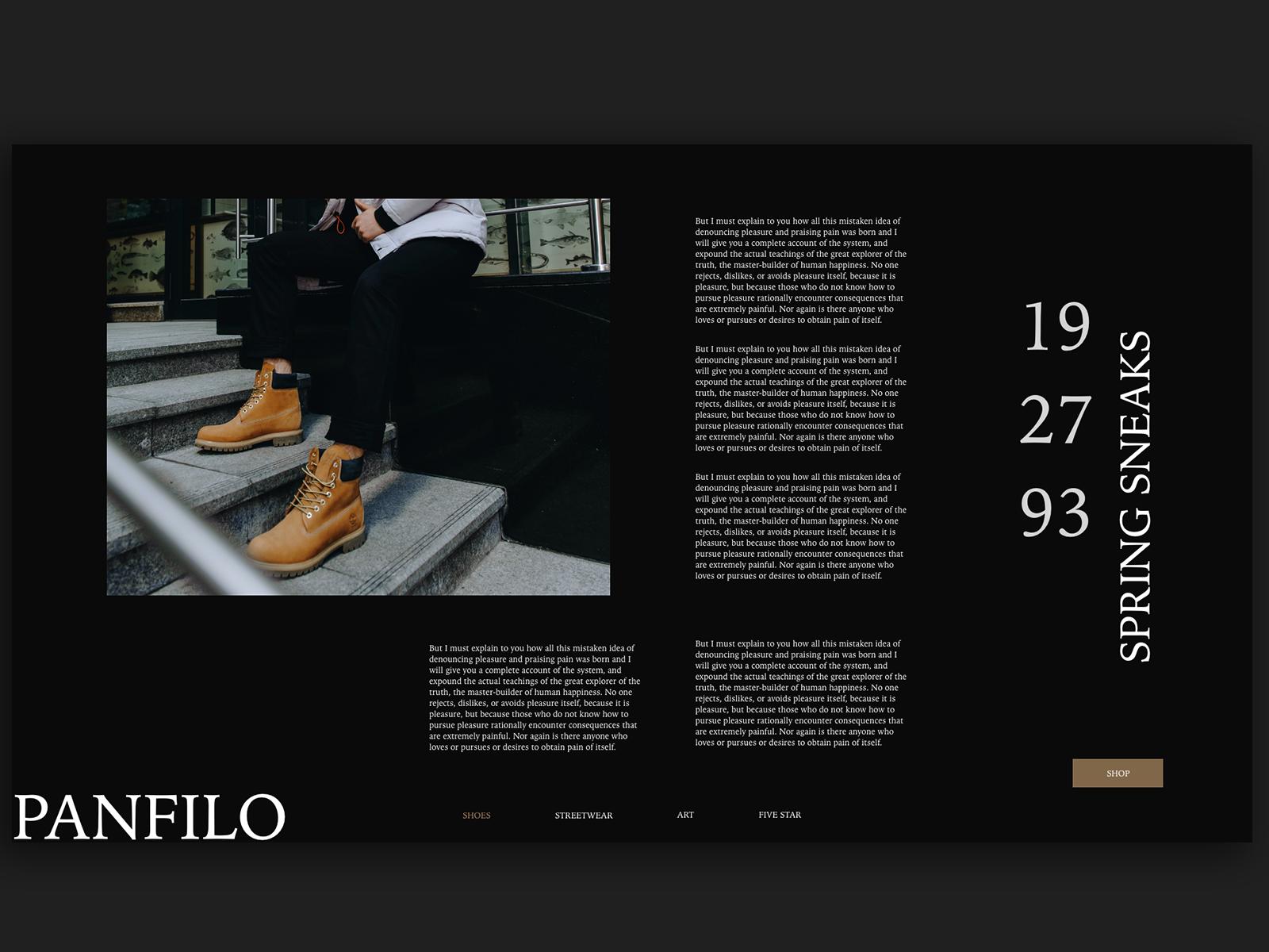 Panfilo Fashion Blog
