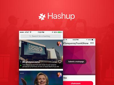 Hashup agency gurgaon india behance dribbble android ios uxdesign uidesign ux ui hashup