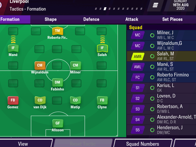 Formation - player selected. Football Manager Mobile 2021 ui sega mobile manager game football 2021 uxui
