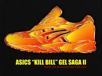 """033 Asics """"Kill Bill"""" Gel Saga II"""