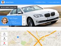 Driving iPad App - Map Screen