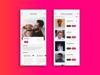 IOS App - Dolker - Dog walker finding app