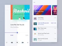 Music App Design Exploration