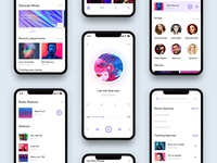 Music App Design Behance Case Study