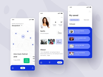 Event Application design