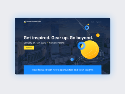 Landing Page for 1Ci Partner Summit 2020