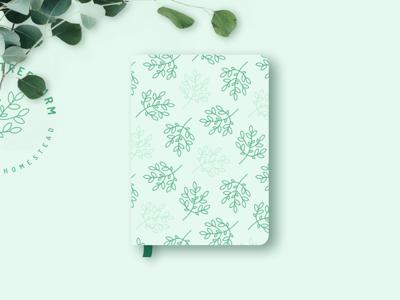 Greeting Tree Farm Notebook Design