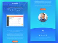 New LiveIntent Platform Email