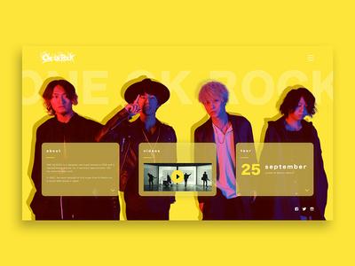 ONE OK ROCK Artist Homepage