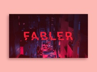 Fabler Poster Concept