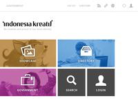 Indonesia Kreatif Homepage