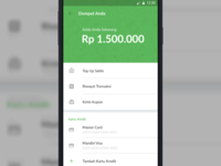 Android Material Design Wallet