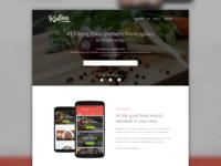Kulina Landing Page