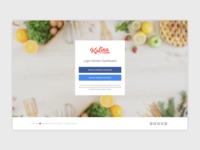 Login for Kulina Kitchen Dashboard