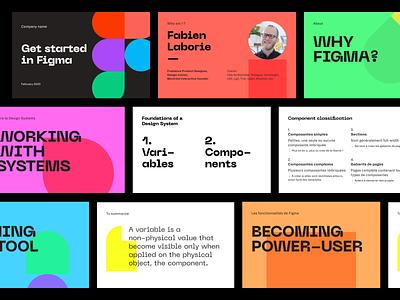 Figma training ui branding conference presentation talk slides figma