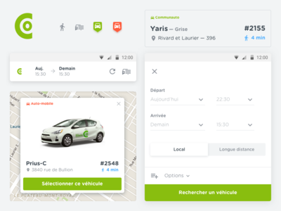 Communauto - Components design