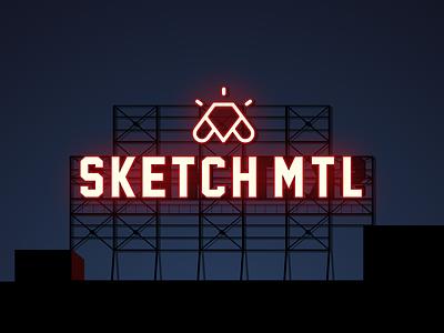 SketchMTL illustration sign five roses farine community sketch app sketch quebec canada mtl montreal