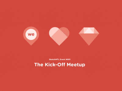 SketchMTL - Kick-Off Meetup Visuals