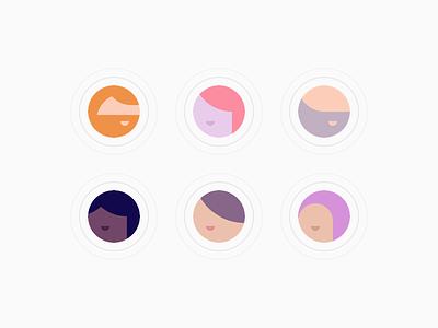 zeroheight - avatars diversity face human placeholder avatar profile profile pic illustration