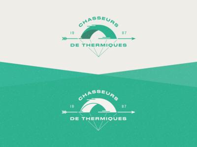 Chasseurs de thermiques logo