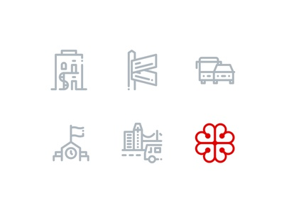 City of Montreal Icons