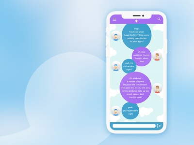 Ui013 - Direct Messaging chatapp chat newchat directmessaging message 013 dailyui