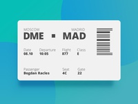 Ui024 - Boarding Pass