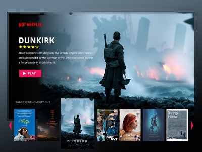 Ui025 - TV App notnetflix app tv tvapp 025 dailyui