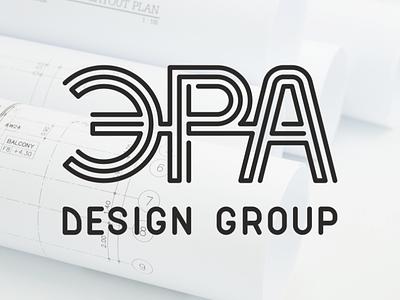 ЭРА DG Logo logo design lined logo brand logo