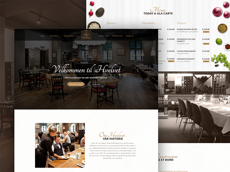 Restaurant website ui ux design by asad a malik dribbble