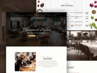 Restaurant Website UI/UX Design
