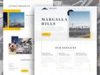 Website Concept Construction Company