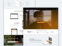 Mobile Company Website Design